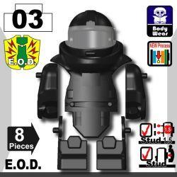 Костюм сапера E.O.D TS70, черный