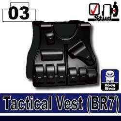 BR7 tactical vest black