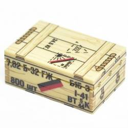 Soviet crate of ammunition 7,62 mm