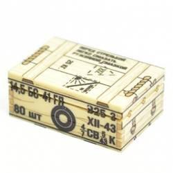 Soviet crate of ammunition 14,5 mm