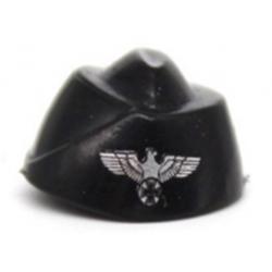 German Field Cap Eagle Black Brickpanda