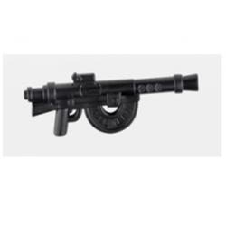 French machinegun, black Brickpanda