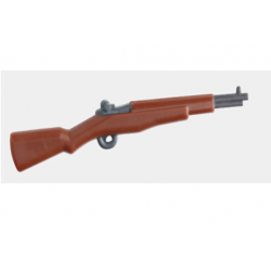 American M1 Garand rifle, brown Brickpanda