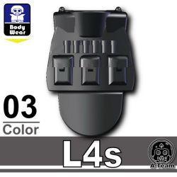Броня L4s  черного цвета