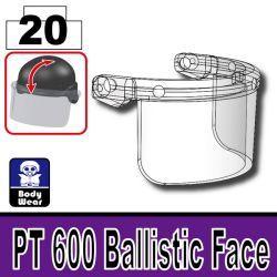 Ballistic Mask PT 600 Trans-Clear