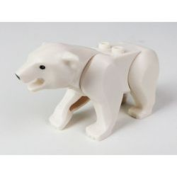 Минифигурка белого медведя