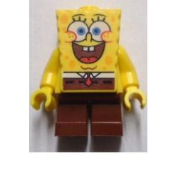 Спанч Боб радостный - минифигурка Лего