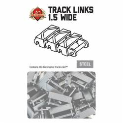 BTL20011 Brickmania Track Links - One and a Half Wide steel
