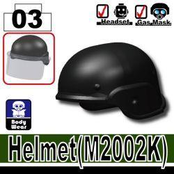 Helmet M2002K black