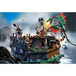 4182 Крепость Викингов против дракона Фафнира