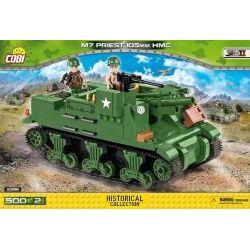 2386 САУ США M7 «Прист» 105mm