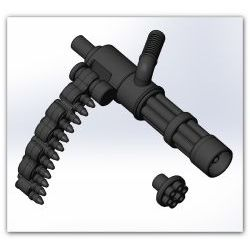Minigun black Rusarms