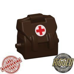 Haversack medic brown