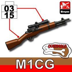 Винтовка M1 Garand черно-коричневая