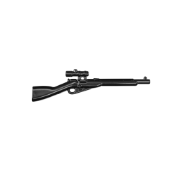 Mosin nagant scoped black