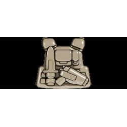 Бронежилет Командира отряда темно-тановый