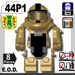 Костюм сапера E.O.D TS70 с принтом, песчаный