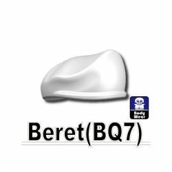 Белый берет BQ7