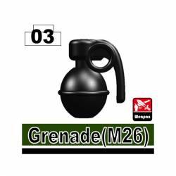 Граната М26, черная