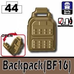 Backpack BF16 dark tan