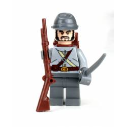 Confederate Soldier Minifigure