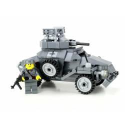 German WW2 Armored Car Sd.Kfz 222 Custom Set