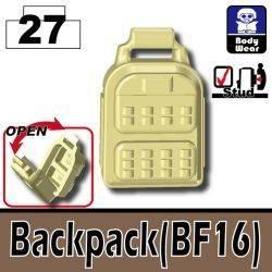 Backpack BF16 tan