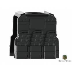 Reversable Vest with PMags and clip