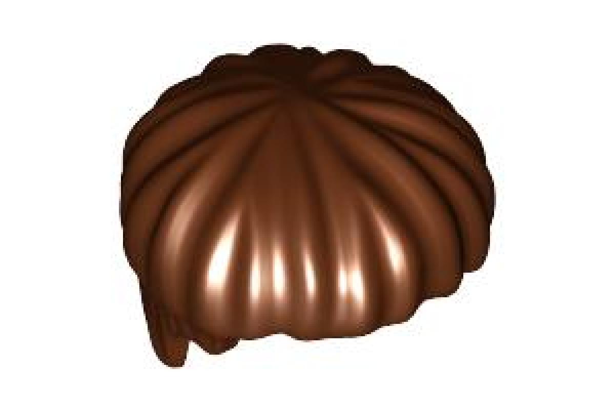 Hair Short, Bowl Cut Reddish Brown